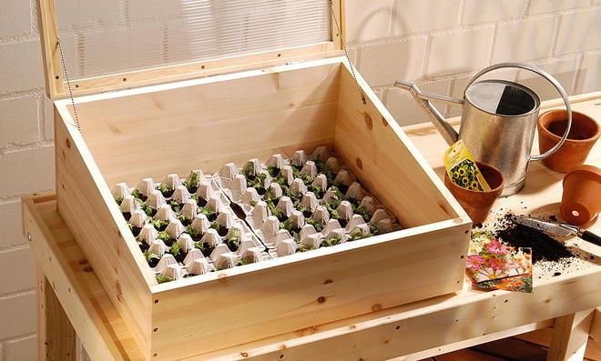 Frühbeetkasten selber bauen