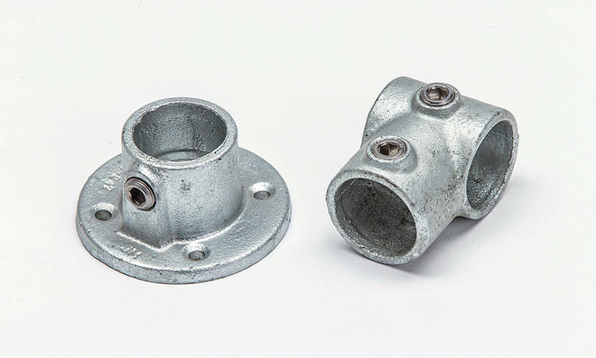 Rohrverbinder Industrial-Tisch