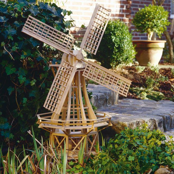 Fachwerk-Windmühle bauen