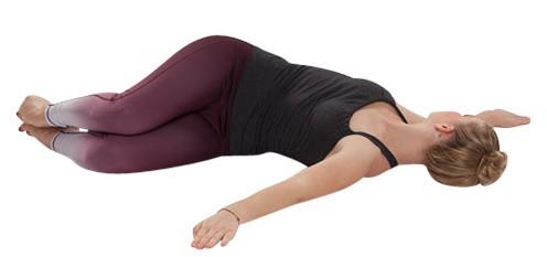 Yoga-Asana Scheibenwischer