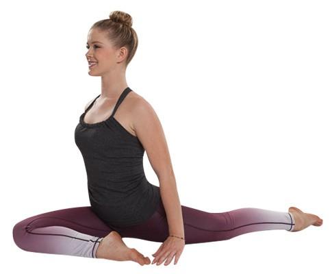 Yoga-Asana Taube